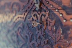 Ένα στήθος με τη διακόσμηση Στοκ εικόνα με δικαίωμα ελεύθερης χρήσης