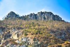 Ένα στρώμα των δύσκολων βουνών Στοκ Εικόνες