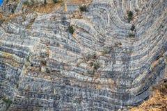 Ένα στρώμα των δύσκολων βουνών Στοκ Εικόνα