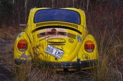 Ένα σφάγιο ενός παλαιού Wolkswagen στοκ φωτογραφίες με δικαίωμα ελεύθερης χρήσης