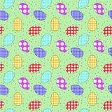ένα σχέδιο των αυγών Πάσχας Στοκ φωτογραφία με δικαίωμα ελεύθερης χρήσης