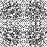 Ένα σχέδιο των μαύρων ομαλών γραμμών Στοκ φωτογραφίες με δικαίωμα ελεύθερης χρήσης