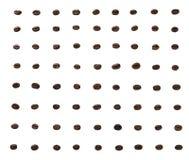 Ένα σχέδιο των ψημένων φασολιών καφέ Στοκ Εικόνα