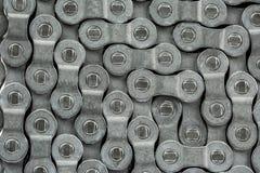 Ένα σχέδιο αλυσίδων ποδηλάτων Στοκ Εικόνες