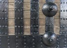 Ένα σχέδιο στην ιαπωνική πύλη κάστρων Στοκ Εικόνες