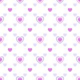 Ένα σχέδιο των καρδιών Στοκ εικόνες με δικαίωμα ελεύθερης χρήσης