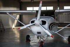 Ένα σύγχρονο αεροπλάνο Στοκ Φωτογραφίες