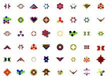 Ένα σύνολο λογότυπων, εικονιδίων και γραφικών στοιχείων Στοκ φωτογραφίες με δικαίωμα ελεύθερης χρήσης