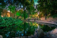 Ένα σύνολο πάρκων των πράσινων χρωμάτων στοκ φωτογραφία με δικαίωμα ελεύθερης χρήσης