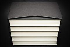 Ένα σύνολο συνδεδεμένων ύφασμα βιβλίων στοκ φωτογραφία με δικαίωμα ελεύθερης χρήσης