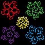Ένα σύνολο σχηματικών χρωμάτων Στοκ Φωτογραφία
