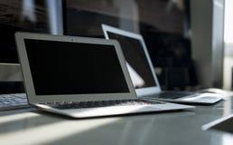 Ένα σύνολο γραφείων των προϊόντων της Apple Computer Στοκ εικόνες με δικαίωμα ελεύθερης χρήσης