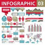 Στοιχεία 03 Infographic Στοκ φωτογραφία με δικαίωμα ελεύθερης χρήσης