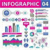 Στοιχεία 04 Infographic Στοκ εικόνα με δικαίωμα ελεύθερης χρήσης
