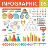 Στοιχεία 05 Infographic Στοκ φωτογραφία με δικαίωμα ελεύθερης χρήσης