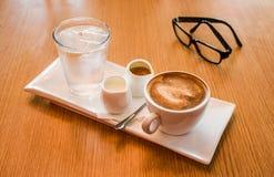Ένα σύνολο καφέ Στοκ φωτογραφία με δικαίωμα ελεύθερης χρήσης