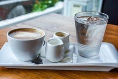 Ένα σύνολο καφέ Στοκ Εικόνες