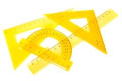 Ένα σύνολο μέτρησης των εργαλείων Στοκ εικόνα με δικαίωμα ελεύθερης χρήσης