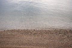 Ένα σύνολο παραλιών της πέτρας Στοκ Φωτογραφία