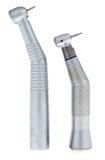 Ένα σύνολο δύο οδοντικών τρυπανιών στοκ φωτογραφία
