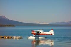 Ένα σώμα-αεροπλάνο καστόρων που χρησιμοποιείται για τους χάρτες στην Αλάσκα Στοκ Εικόνες