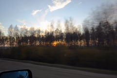 Ένα ταξίδι στο δρόμο Στοκ Φωτογραφία