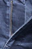 Ένα τεμάχιο του κοτλέ παντελονιού τζιν Στοκ φωτογραφία με δικαίωμα ελεύθερης χρήσης
