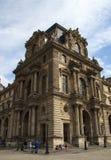 Ένα τεμάχιο του Λούβρου Παρίσι Γαλλία Στοκ Φωτογραφία