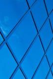 Ένα τεμάχιο του μπλε κτηρίου γυαλιού Στοκ Φωτογραφίες