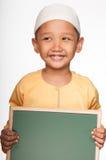 Χαριτωμένο μουσουλμανικό αγόρι Στοκ Φωτογραφία