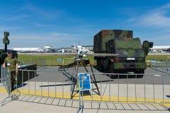Ένα τηλεκατευθυνόμενο εναέριο όχημα EMT Luna Χ-2000 Στοκ Φωτογραφίες