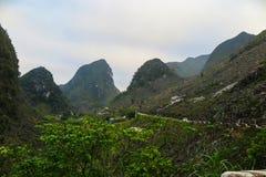 Ένα τοπίο στο εκτάριο Giang, βόρειο Βιετνάμ Στοκ Εικόνες
