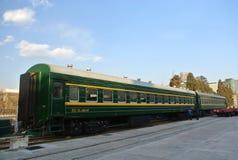 Ένα τραίνο Στοκ φωτογραφία με δικαίωμα ελεύθερης χρήσης