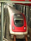 ένα τραίνο Στοκ Φωτογραφία