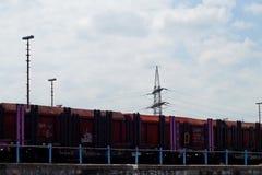 Ένα τραίνο Στοκ Εικόνες