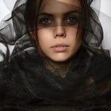 Ένα τρυφερό κορίτσι Στοκ Εικόνες