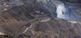 Ένα υπαίθριο ανθρακωρυχείο Στοκ φωτογραφίες με δικαίωμα ελεύθερης χρήσης