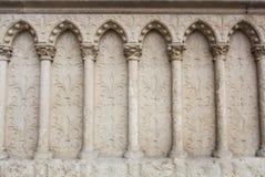 Ένα υπόβαθρο με τη γοτθική διακόσμηση ύφους Στοκ Φωτογραφίες