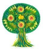 Ένα φανταστικό μήλο δέντρο-πρασίνου φαντασίας Στοκ φωτογραφίες με δικαίωμα ελεύθερης χρήσης
