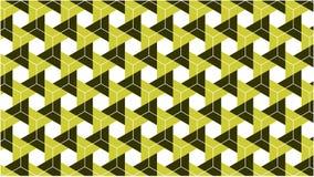Ένα φανταστικό υπόβαθρο για μια ομάδα κλίσης hexagonals και τριγώνων στα χρώματα μεταξύ του πράσινου χρώματος και του άσπρου χρώμ Στοκ εικόνα με δικαίωμα ελεύθερης χρήσης
