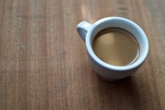 Ένα φλιτζάνι του καφέ Στιγμιαίος καφές Μακροεντολή στοκ φωτογραφίες με δικαίωμα ελεύθερης χρήσης
