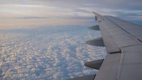 Ένα φτερό αεροπλάνων ` s Στοκ Φωτογραφίες