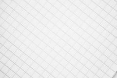 Ένα φύλλο του εγγράφου σε ένα υπόβαθρο κλουβιών Στοκ εικόνα με δικαίωμα ελεύθερης χρήσης