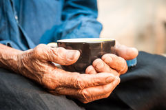 Καφές σε ετοιμότητα παλαιό στοκ εικόνες