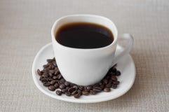Ένα φλιτζάνι του καφέ Στοκ εικόνα με δικαίωμα ελεύθερης χρήσης