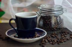 Ένα φλιτζάνι του καφέ Στοκ εικόνες με δικαίωμα ελεύθερης χρήσης
