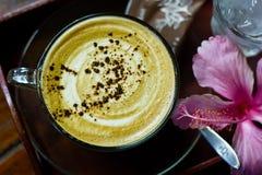 Ένα φλυτζάνι του καφέ Cappuccino Στοκ Φωτογραφία