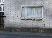 Ένα χαλασμένο σπίτι στις Κάτω Χώρες στοκ εικόνα