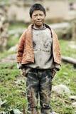 Ένα χαμογελώντας αγόρι Στοκ Εικόνα