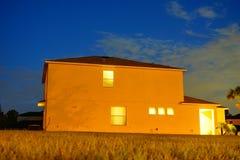 Ένα χαρακτηριστικό σπίτι στη Φλώριδα Στοκ φωτογραφία με δικαίωμα ελεύθερης χρήσης
